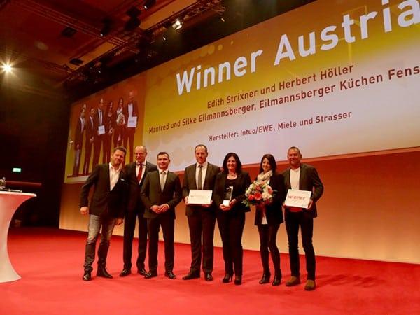 1. Preis: Schönste Küche Österreichs - Eilmannsberger GmbH