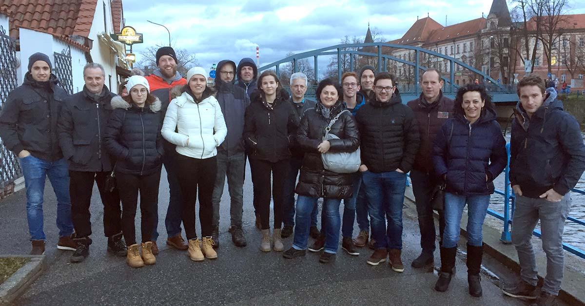 Weihnachtsausflug nach Budweis - Eilmannsberger GmbH
