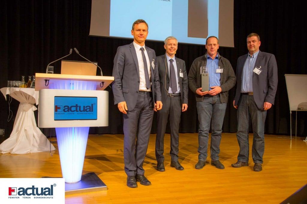 Verleihung Acutal Award - Eilmannsberger GmbH