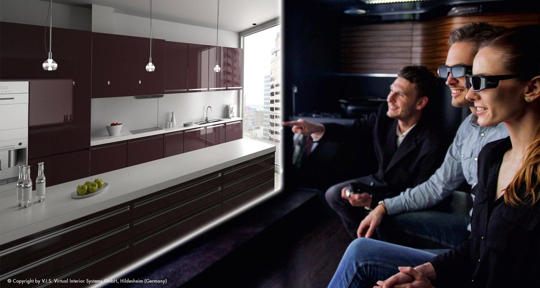 3D Küchenplanung - 3D Küchenplaner