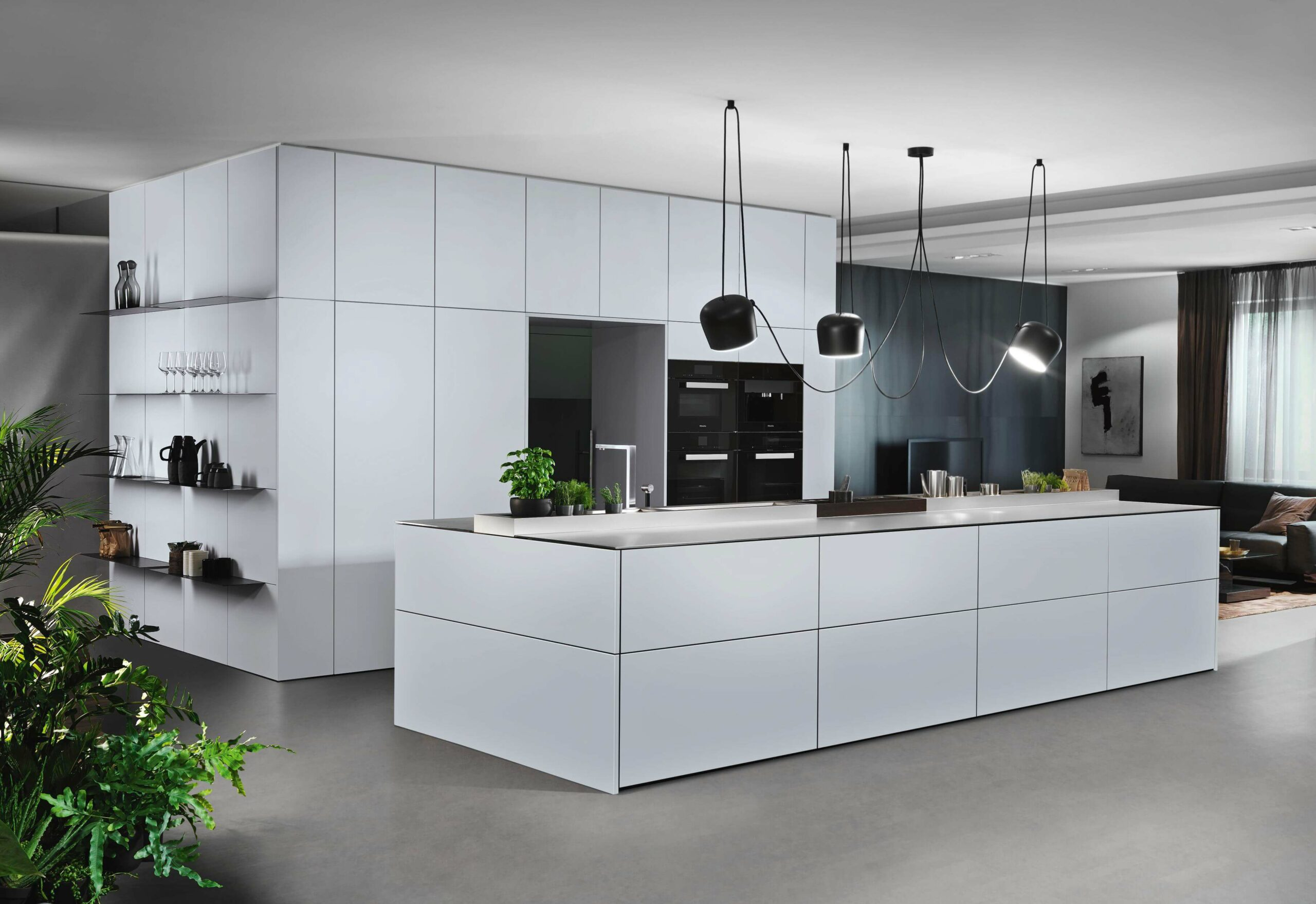 Moderne Küche - Weiße Küche